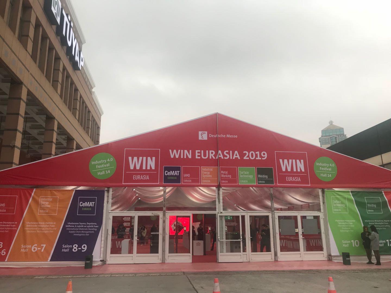SPMK attended Win Eurasia 2019 Istanbul Turkey